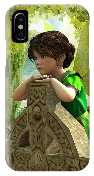 The Celtic Fairy IPhone Case