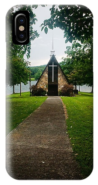 The Chapel On The Lake IPhone Case