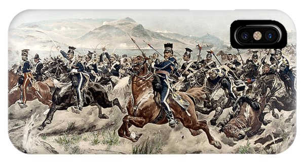 Cavalry iPhone Case - The Charge Of The Light Brigade, 1895 by Richard Caton Woodville