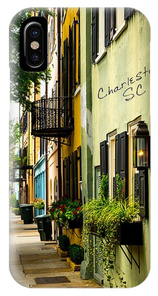 The Charm Of Charleston IPhone Case