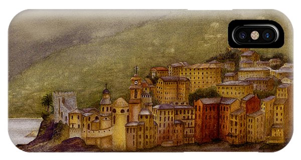 The Charming Town Of Camogli Italy IPhone Case
