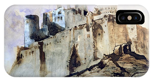 Dracula iPhone Case - The Chateau Of Vianden by Victor Hugo