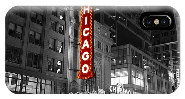 The Chicago Theatre IPhone Case