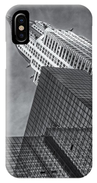 The Chrysler Building Bw IPhone Case