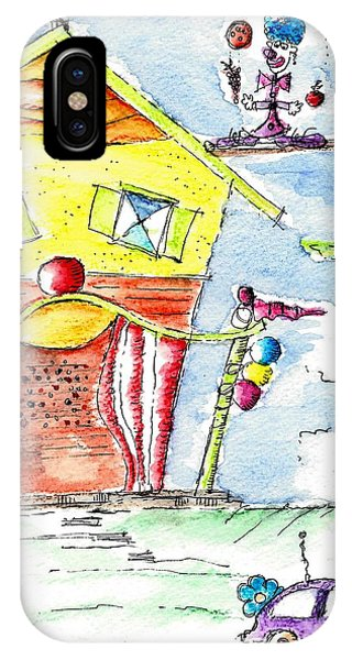The Circus Clown IPhone Case