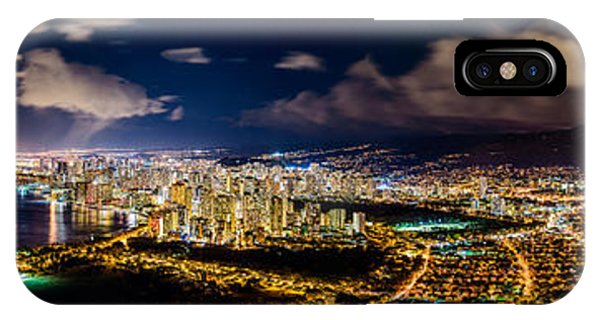 The City Of Aloha IPhone Case