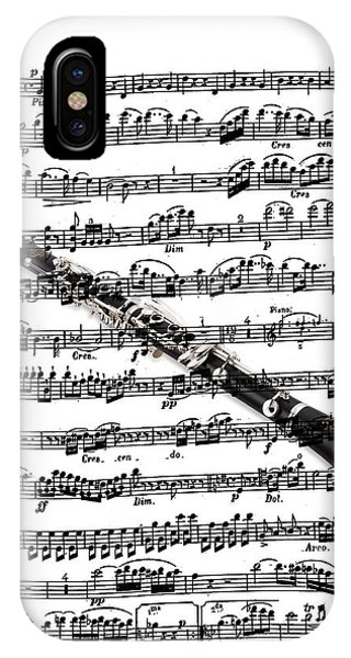 The Clarinet IPhone Case
