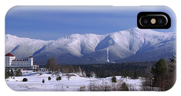 The Classic Mount Washington Hotel Shot IPhone Case