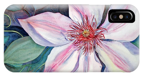 The Clematis IPhone Case