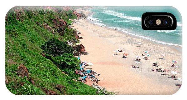 Roxbury iPhone Case - The Cliffs At Varkala Beach Overlooking by Steve Roxbury