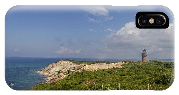The Cliffs Of Aquinnah IPhone Case