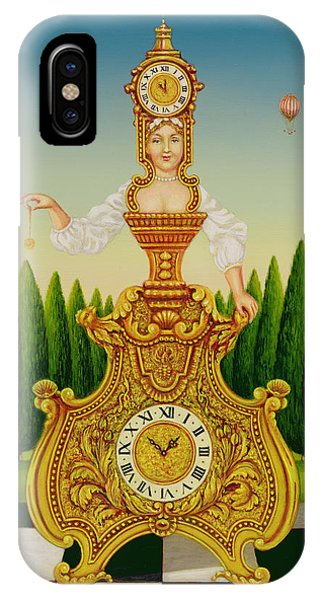 Clock iPhone Case - The Clockmakers Wife by Frances Broomfield