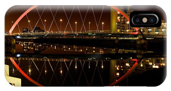 The Clyde Arc In Red IPhone Case