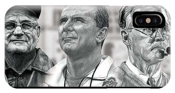 Realism iPhone Case - The Coaches by Bobby Shaw