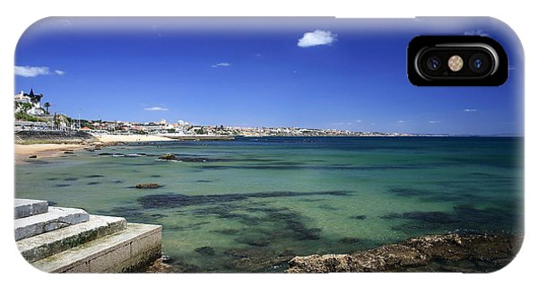 The Coast Of Estoril Phone Case by John Rizzuto