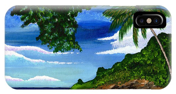 The Coconut Tree IPhone Case