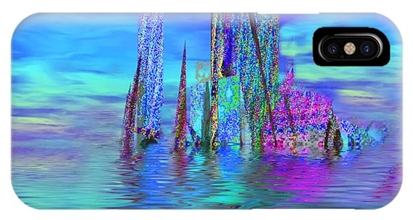 The Colors Have Went Out To Sea. IPhone Case