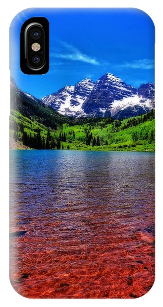 Fourteener iPhone Case - The Colors Of Maroon Bells In Summer by Dan Sproul