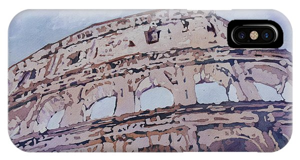 Ancient Rome iPhone Case - The Colossus  by Jenny Armitage
