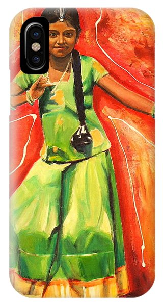 The Colours Of Dance Phone Case by Sheila Diemert