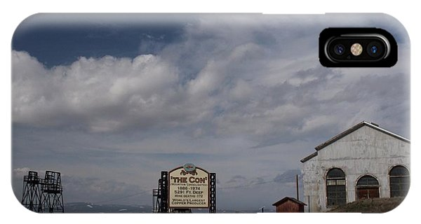 The Con In Butte Montana IPhone Case