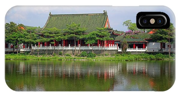 IPhone Case featuring the photograph The Confucius Temple In Kaohsiung Taiwan by Yali Shi