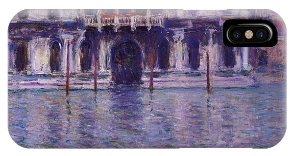 Palace iPhone Case - The Contarini Palace by Claude Monet