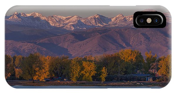 Indian Peaks Wilderness iPhone Case - The Continental Divide by Aaron Spong