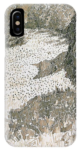 Impressionistic iPhone Case - The Corner Of The Park by Vincent van Gogh