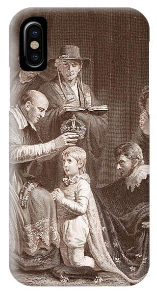 The Coronation Of Henry Vi, Engraved IPhone Case