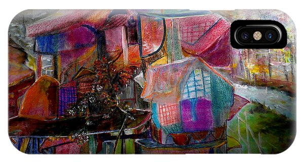 The Cottage Of The Artist IPhone Case
