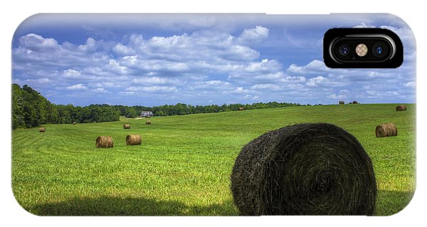 The Country House Hayfield IPhone Case