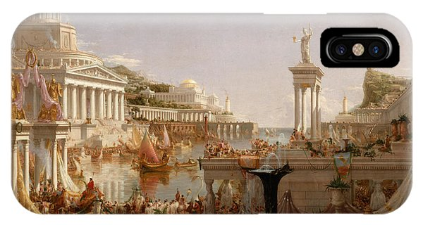 The Course Of Empire Consummation  IPhone Case