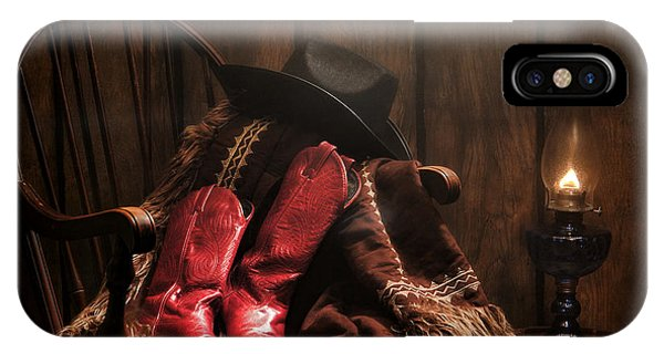 The Cowgirl Rest IPhone Case