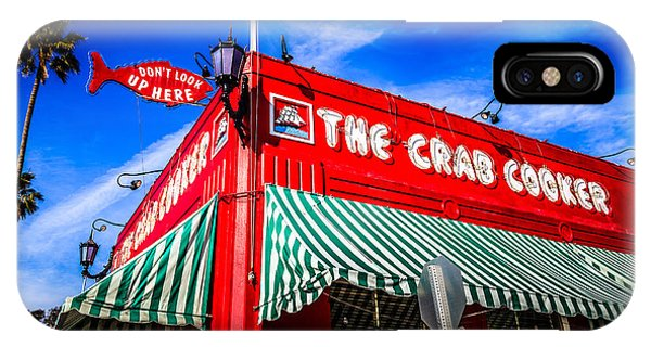 The Crab Cooker Newport Beach Photo IPhone Case