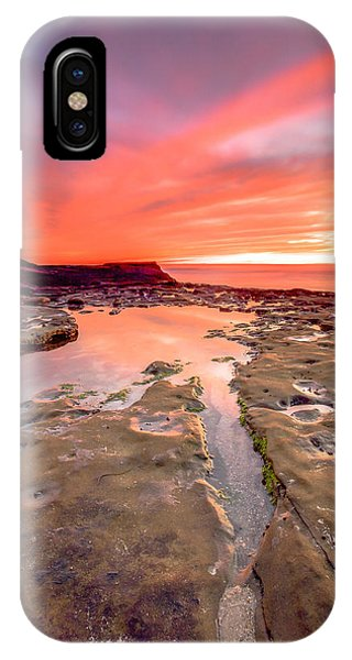 The Crack In The Rock IPhone Case