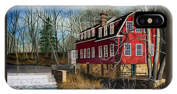 The Cranford Mill IPhone Case