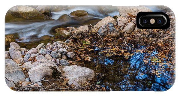 The Creek And The Quiet Pool IPhone Case
