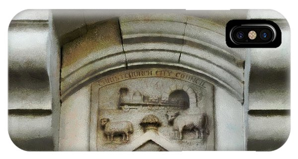 The Crest Of The Christchurch City Council IPhone Case