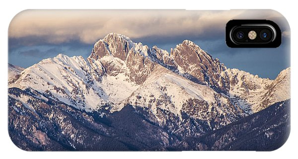 Sangre De Cristo iPhone Case - The Crestones by Aaron Spong