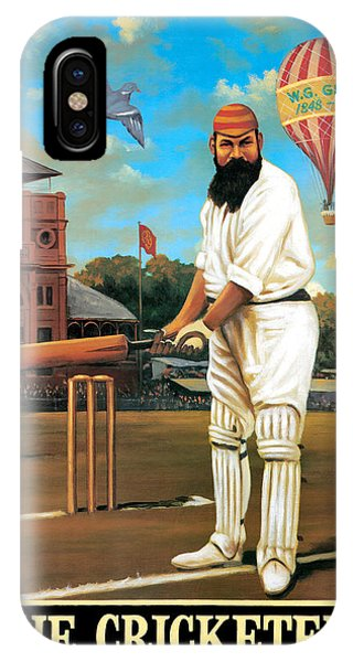 Cricket iPhone Case - The Cricketers by Peter Green