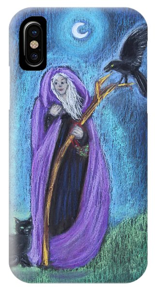 The Crone IPhone Case