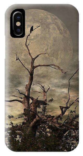 The Crow Tree IPhone Case