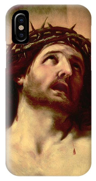 Messiah iPhone Case - The Crown Of Thorns by Guido Reni