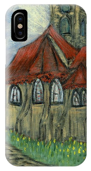 The Curch  Phone Case by Oscar Penalber