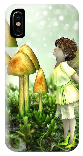 The Curious Fairy IPhone Case