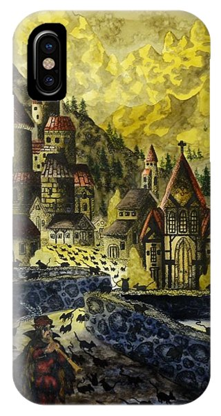 The Curse Of Hamelin IPhone Case
