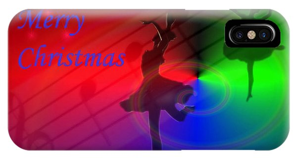 The Dance - Merry Christmas IPhone Case