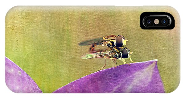 The Dance Of The Hoverfly IPhone Case