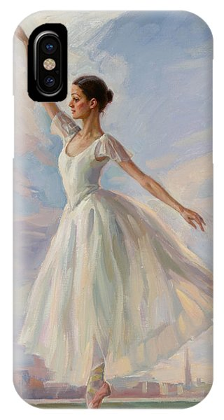The Dancer In White IPhone Case